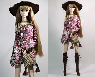 Lilith in boho....Kate/Yoko Collaboration