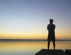Amanecer (LuisLeyMx) Tags: bacalar laguna amancer pensando contemplando