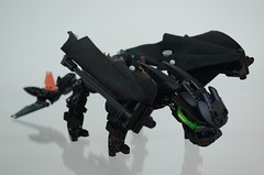 Toothless Rest (Closed Wings) (Dödke) Tags: lego bionicle toothless how train your dragon
