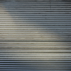 (SteffenTuck) Tags: grey gray lines metal cladding rollershutter rollerdoor grille steffentuck milton brisbane queensland background wallfilth worn wabisabi metallic sheen wall texture