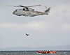 Merlin + Lifeboats (np1991) Tags: royal navy rn merlin hm2 820 naval air squadron nas culdrose hms queen elizabeth moray inshore rescue boat miro roseile beach kinloss burghead nikon digital slr dslr d7100 camera sigma 50500mm 50 500 50500 mm bigma lens aviation aircraft helicopter helo chopper