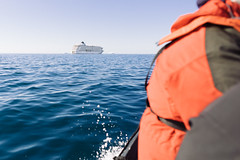 Zodiac Ride to the World (JeffAmantea) Tags: zodiac ocean sea water ship boat antarctica antarctic mario zucchelli station landscape world residence sony alpha sonyalpha a7ii nikkor 50mm 14 metabones