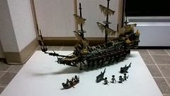 The Silent Mary (Johnny-boi) Tags: lego pirates caribbean silent mary ghost ship boat sail minifigure