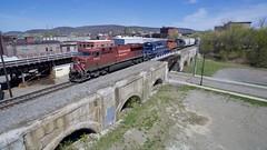 CP 8842 (irail2010) Tags: cp lackawanna ge locomotive railroad binghamton