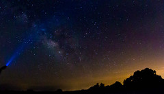 Searching for the light... (tshabazzphotography) Tags: astrology stars milkyway nebula space infinite outdoors earlybird canon canont5i canonofficialcanonpicturesflickr flickrlove passion flashlight lightpainting longexposurephotography nature