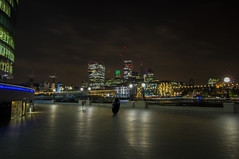 London by Night (gastongabrielliotta) Tags: london londonriver londonriverside rivernight londonnight wideangle longexposure architecture color sigma1020mm photography landscape nightlandscape wallpaper future cityhall