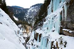 Eisarena Untertauern (.hansn#) Tags: unertauern österreich salzburg eisklettern ice climbing eis seil säule kalt cold