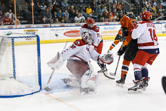 "Missouri Mavericks vs. Allen American, March 22, 2017, Silverstein Eye Centers Arena, Independence, Missouri.  Photo: © John Howe / Howe Creative Photography, all rights reserved 2017 • <a style=""font-size:0.8em;"" href=""http://www.flickr.com/photos/134016632@N02/33477078641/"" target=""_blank"">View on Flickr</a>"