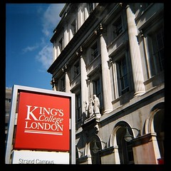 DianaF+ - 1st Roll - Colour (KCMei_) Tags: dianaf lomo lomography london wimbledon waterloo strand 120film kodak portra kings college kcl