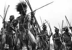 HD_C_All_1436_2016 (BakriAABakar) Tags: 2011 png portrait archers arrows blackwhite clouds crux culturalshow engashow highlands indigenous jcrux jcruxphoto johncrux morobeshow mthagen papuanewguinea people scary show singsing strange tourism travel tribal tribes