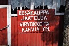 IMG_0049 (www.ilkkajukarainen.fi) Tags: suomi suomi100 finland eu europa happylife museumstuff kioski kiska pulkkilan harju päijänne ranta saari kesäkauppa jäätelö coffee place kahvi kahvila virvokkeet virvokkeita