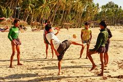 The game of chelo (sunvita33) Tags: burma myanmar ngapali beach fishermen game ball playing vitawiehl