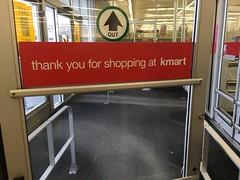 K-Mart Parkersburg, WV (Dinotography24) Tags: kmart parkersburg wv westvirginia closing liquidation store department door thank you