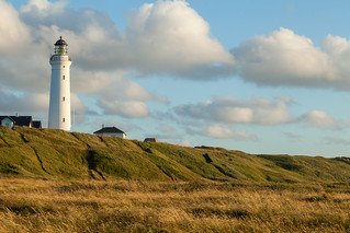 The Hirtshals lighthouse