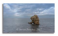We Stand Alone (Steven Peachey) Tags: shotrock seascape beach sea sky clouds light coast coastline northeastcoast northeastengland canon canon6d ef1740mmf4l leefilters uk england exposure easington rock explored explore