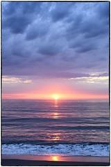 Rehoboth Beach Sunrise (Walker Evans is my Hero) Tags: rehobothbeach sunrise nikon d810 zeiss otus 55mm zf2 f14 color