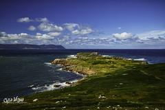 White Point, Nova Scotia (wilbias) Tags: canada sky mountains water island blue north clouds coast ocean east summer beautiful white mountain point cape atlantic range nova scotia appalachian breton