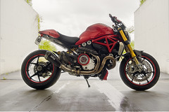 New drive belt cover (rockymotard) Tags: ducati monster 1200s customized