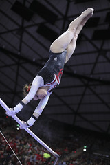 gymnastics009 (Ayers Photo) Tags: sports canon utahutes utah utes red redrocks gymnastics barefoot bare foot feet toes toe barefeet woman women