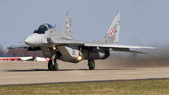 MiG-29 | Polish Air Force (f1_mirage) Tags: mig29 polish air force 38 epmm mińsk mazowiecki fulcrum fighter mikoyan gurevich aviation airplane aircraft jet takeoff