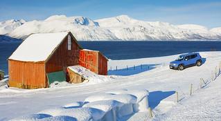 Farmhouse along Ullsfjord