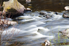 River Elan (Mike House Photography) Tags: river water flowing fast long shutter exposure smooth dreamy peaceful wales elan valley uk reservoir