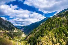On the other side of the stunning view ... (Don Costello) Tags: padure rau barbat dam gura apelor dig baraj retezat romania nikon d3300