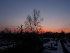 Весенний закат (AntonMBird) Tags: пейзаж весна закат россия деревня