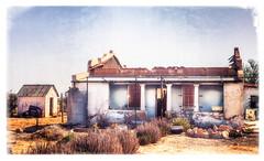 Old House (Daniela 59) Tags: house oldhouse neglect decay derelict grünau namibia sliderssunday hss danielaruppel