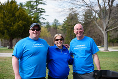 Will Craig, Beth Untiet, and Jim Hunt (eversourcenh) Tags: volunteerism starkpark