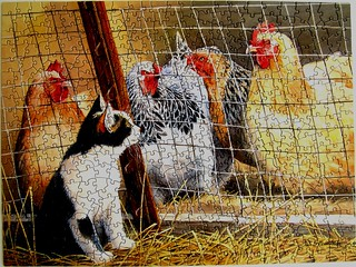 Visit with Hens (Susan Bourdet)