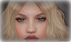 THOSE EYES (jadecurrier) Tags: eyes second life avatar beauty green hazel