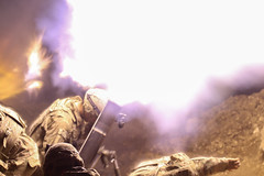 033017_B4_U.S. Army mortars support Iraqi security forces in Mosul fight (FortBraggParaglide) Tags: usarmy deployed combinedjointtaskforceoperationinherentresolve 2ndbrigadecombatteam 82ndairbornedivision altarab iraq westmosul isis 2ndbct 82ndabn div iraqisecurityforces partners adviseandassistmission military brandonhazlett cjtfoir coalition daesh mosul 9thiraqiarmy iq
