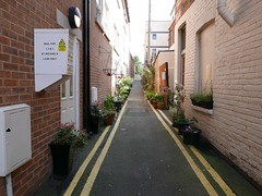 streets of Bournemouth (auroradawn61) Tags: backstreets backstreetsofbournemouth lumixlx100 urban town streets bournemouth dorset uk england april sunny 2017 stmichaelslane