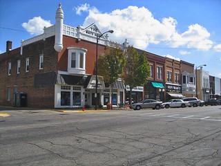 Princeton  ~ Illinois  ~ Bureau County ~ The White House ~ Historic District