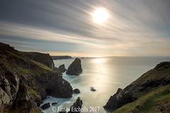 Sea & Sky (James Etchells) Tags: kyance cove lizard peninsula cornwall kernow south west long exposures exposure lee filters nikon national trust sea ocean water light dark seascapes seascape landscapes landscape rocks clouds sky photography colour color motion movement