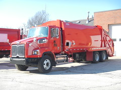 Pepper Pike Refuse Packer Truck (Jamo1454) Tags: pepper pike service department refuse packer western star leach