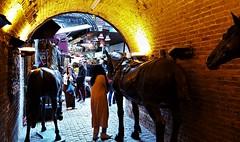 The Old Bazaar In Camden. London UK (standhisround) Tags: camdentown camden camdenmarket bazaar market london people uk horses camdenstablesmarket