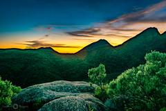 Serra Antonina (Mr. BC.) Tags: nature landscape pico paraná mountain sun clouds peak sunset sky