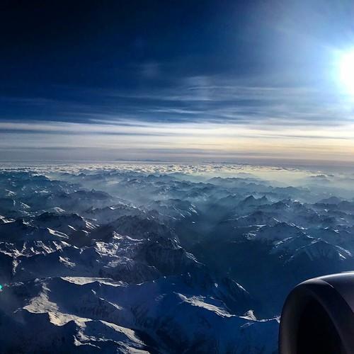 Los Alpes,  un sueño de algodón #holidays #alpesmontain