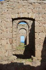 Corridor (steve_whitmarsh) Tags: crudenbay aberdeenshire scotland building ruins abandoned wall architecture urban