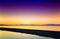 Tramonto sullo Jonio (Gio_guarda_le_Stelle) Tags: sunset jonio landscape today italy seascape violet sea shoreline