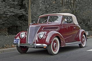 Ford V8 Club Cabriolet 1937 (5707)