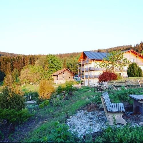 Hotel Mooshütte #kleinerarbersee #hikingadventures #awesomehotel
