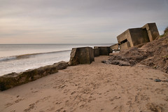 Fraisethorpe (PentlandPirate of the North) Tags: fraisethorpe coastal defences ww2 bunker pillbox gun positions
