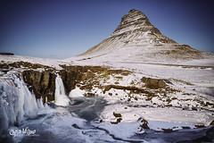 An Afternoon at Kirkjufellsfoss (wilbias) Tags: winter long waterfall sunny exposure afternoon march iceland peninsula snaefellsnes kirkjufell kirkjufellsfoss grundarfjörður grundarfjordor