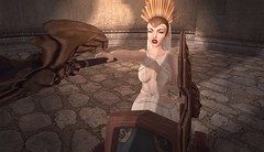 Gladiator Games (Kilisini) Tags: fantasy roman ikon gosee artypix belle epoque aisha ama secondlife second life sl mandala catwa little bones lotus vista