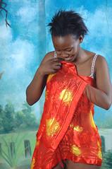 DSC_7467 Kenny from Lesotho South Africa Orange Silk Scarf Shoreditch Studio London (photographer695) Tags: kenny from lesotho south africa orange silk scarf shoreditch studio london