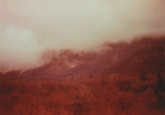 Grand Tour - Veneto (Sofia Podestà) Tags: landscape mountain fog wheather mysterious winter red prealps alps dolomiti dolomites 35mm film analog analogue pellicola canonae1 sofia podestà sofiapodesta sofiapodestà italy 2017