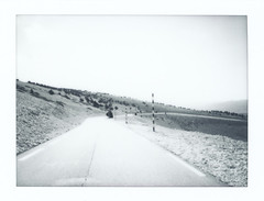 Instax Monochrome: Ventoux 3/3 (Jorn Straten) Tags: ventoux france instax mini roads mountain paca fujifilm instant polaroid monochrome